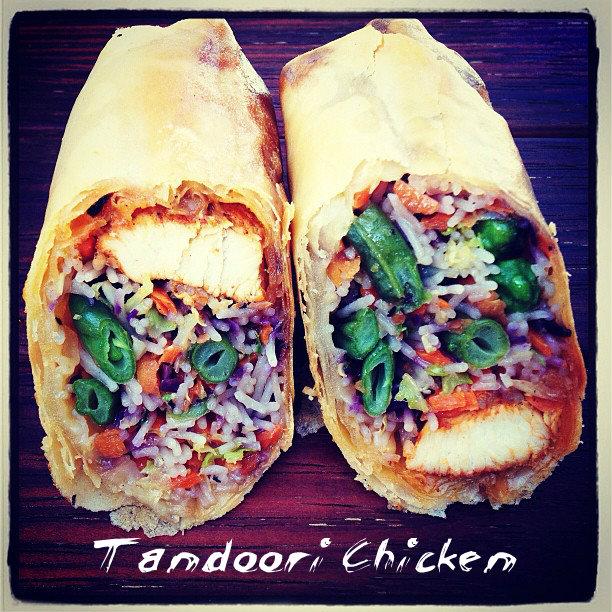 Tandoori Chicken white