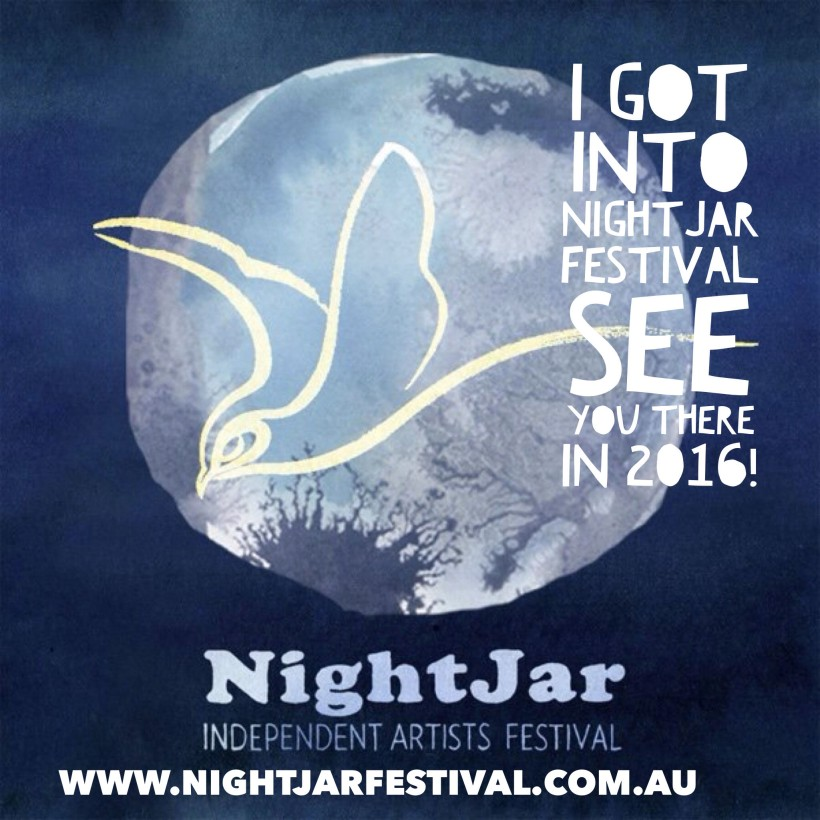 I got into the NightJar Festival!